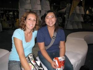 Diana and me