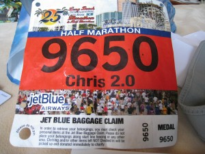 Long Beach Half Marathon: Day #1