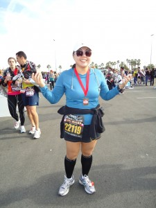 Posing with my medal RNRLV 2010