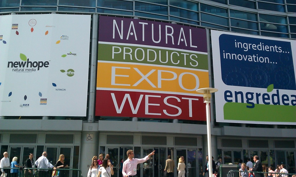 tips to surviving natural products expo - exterior