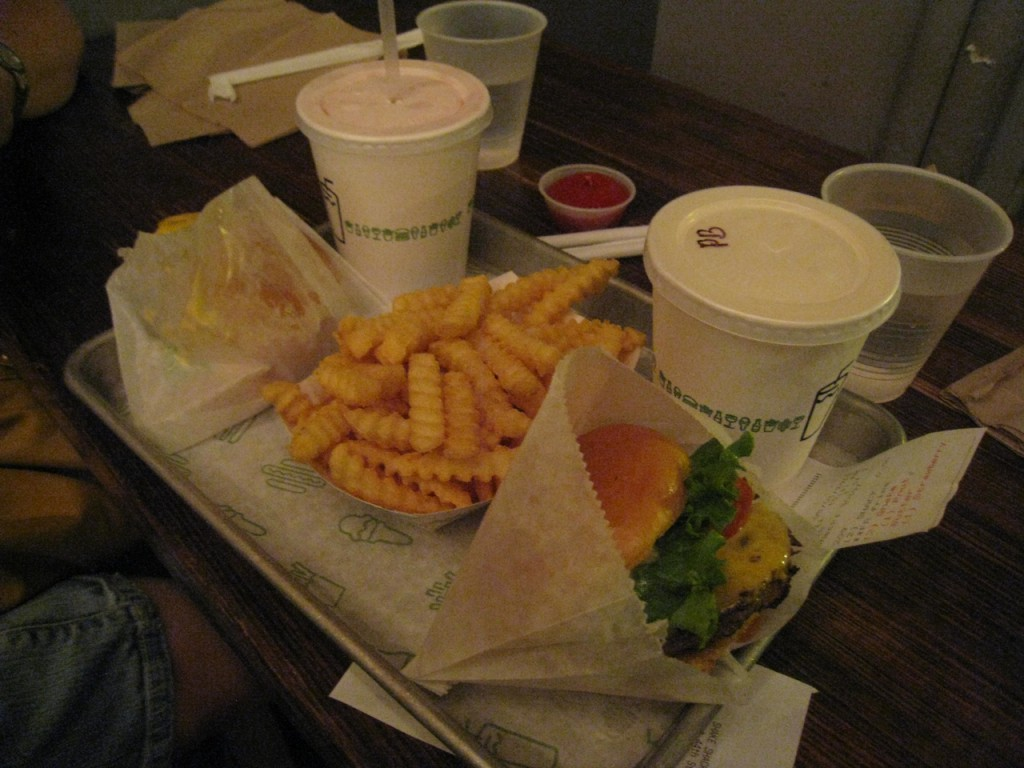 Blogher12 Shake Shack