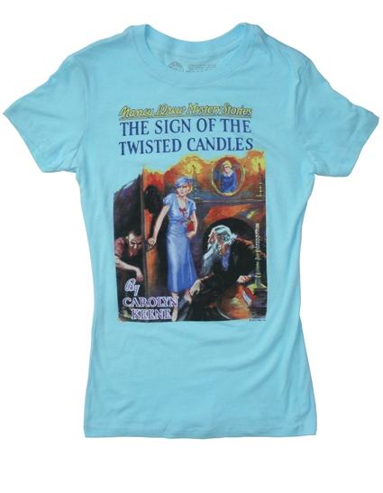 Out of Print books - Nancy Drew t-shirt
