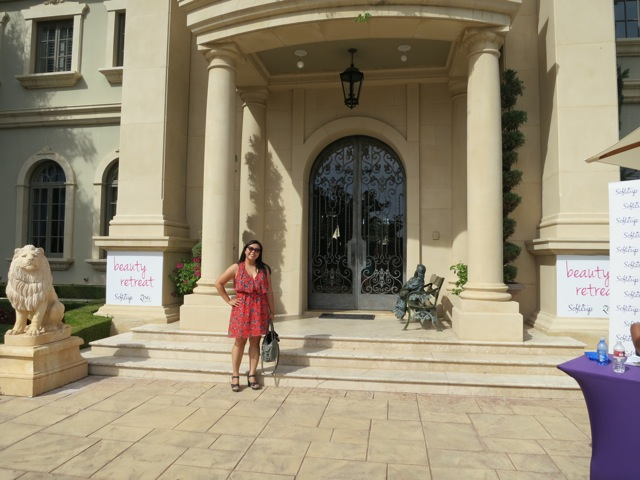 home of Adrienne Maloof - softcup party
