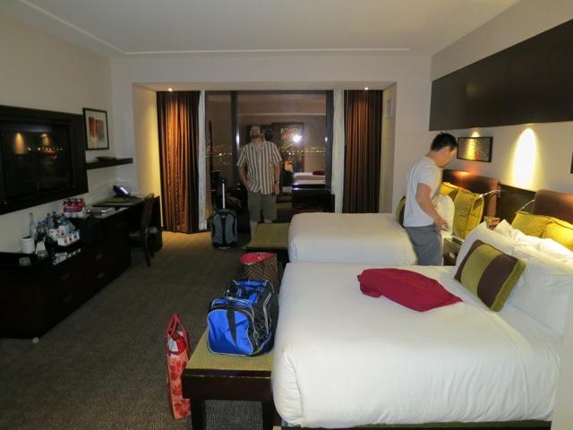 Red Rock Casino - hotel room