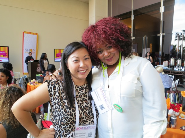 Marie Denee and me - Blogalicious 2012