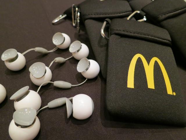 McDonalds swag - blogalicious 2012