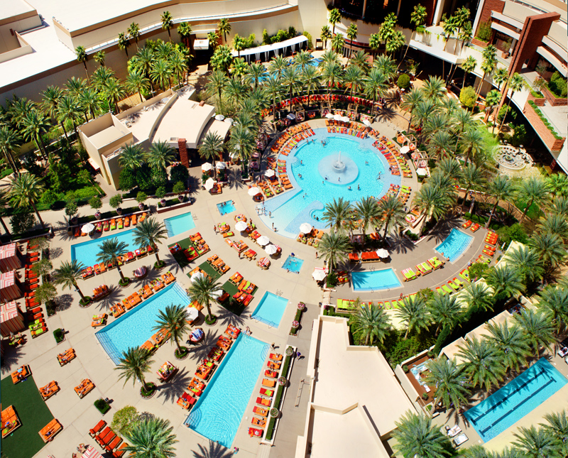red rock casino pool - hotel website