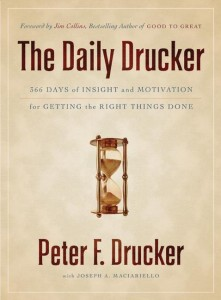 the daily drucker - collins, maciarello