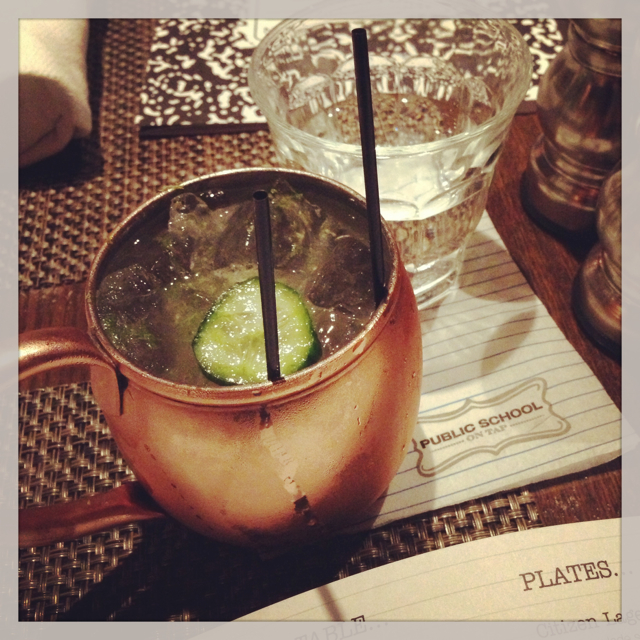 Moscow Mule from PS 310 (Culver City)
