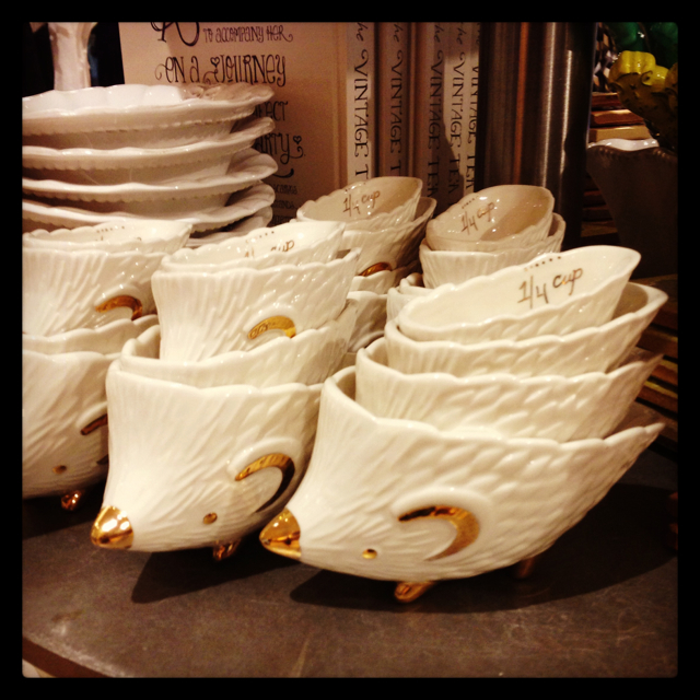 Hedgehog measuring cups - Anthropologie