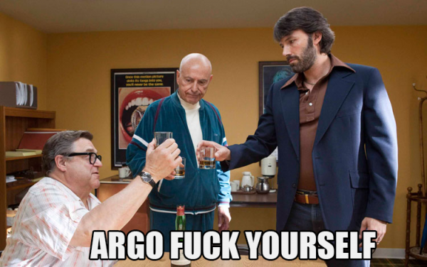 Argo fuck yourself