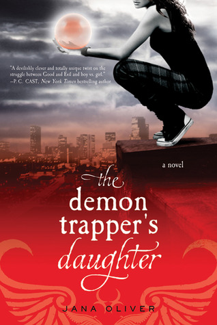 demon trapper's daughter - jana oliver - cover
