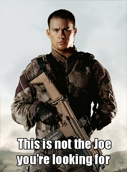 channing tatum gi joe meme