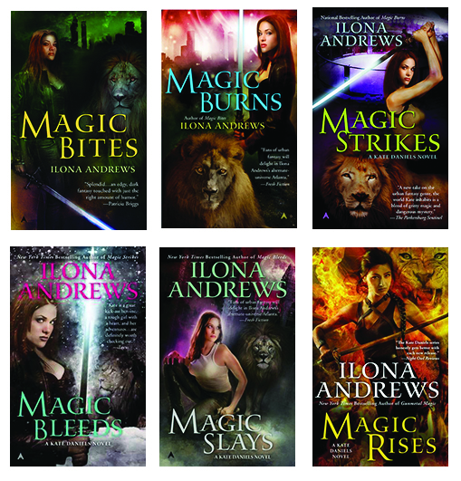 Kate Daniels series by Ilona Andrews