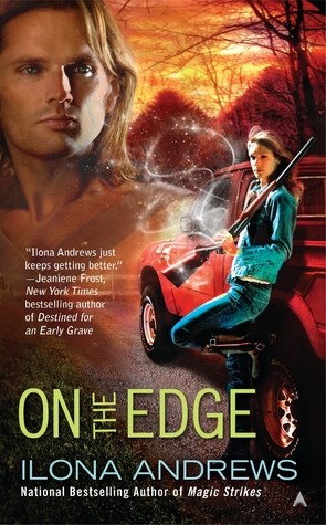 on the edge ilona andrews ugly cover
