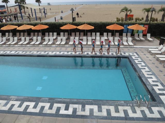 Aqualillies for Tarte - Annenberg Beach House, Santa Monica