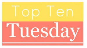 Top 10 Tues Books meme created by The Broke & Bookish