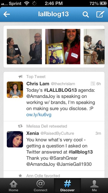 Top Tweet #LALLBLOG13! 