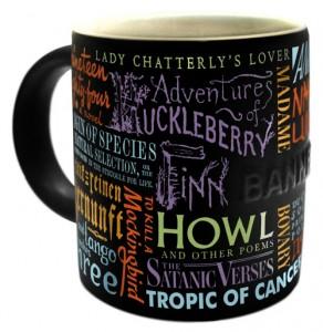 Banned Books mug  source: Philosopher's Guild