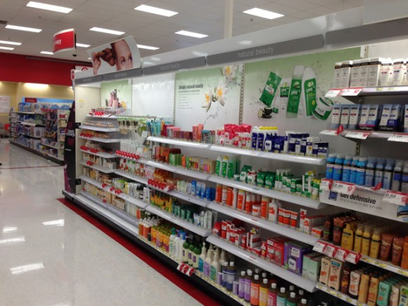 Natural beauty products - Target Carson