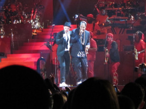 JayZ and Justin Timberlake - Rose Bowl 2013