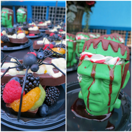 Yummy treats at Knott's Scary Farm 2013 Press Preview