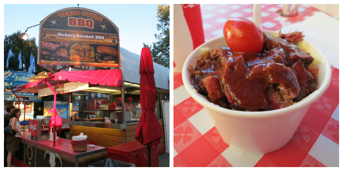 BBQ Beef Sundae - Texas Style BBQ Booth