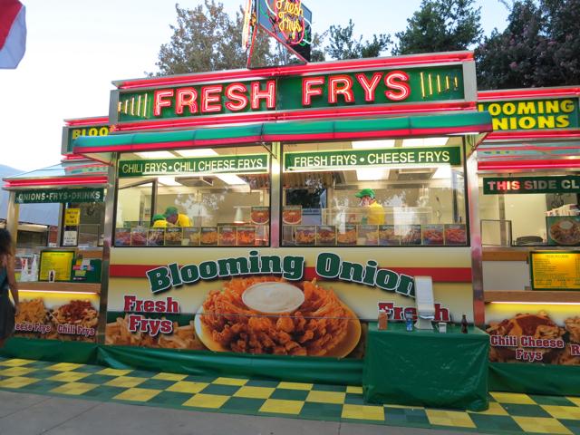 Fresh Frys booth