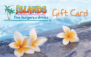 Islands gift card