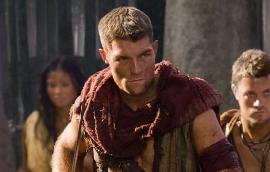 Scowly face - Spartacus