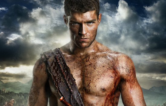 Spartacus never looked so straight!