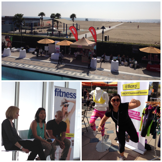 More beach fun at #FitBlogLA - Fitness Magazine