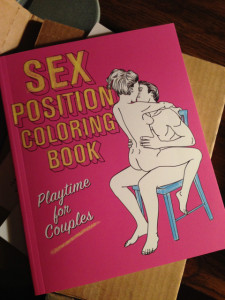 Check Off Each Page from the Sex Positions Coloring Book
