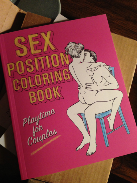 Shazam! Sex Positions Coloring Book.