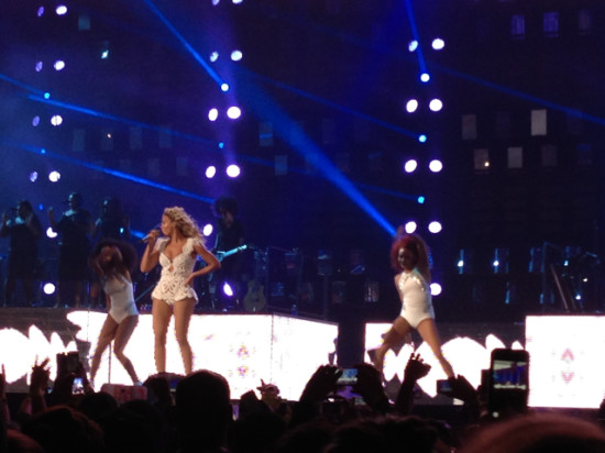 Queen Bey. - Staples Center