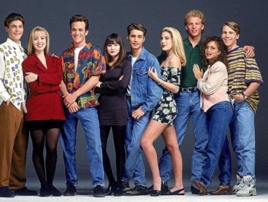 beverly hills 90210 cast photo
