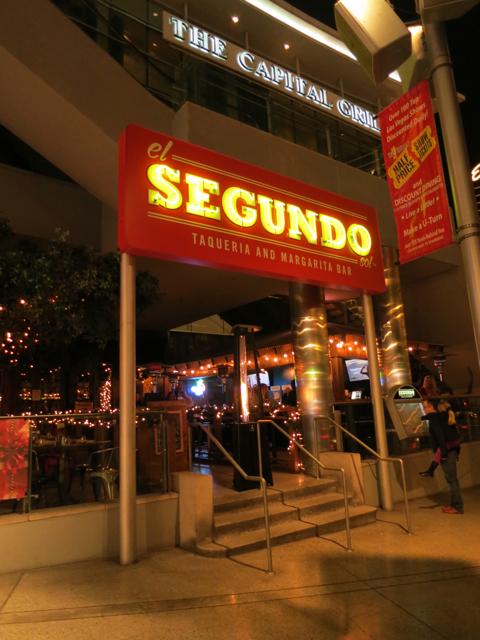 Enter El Segundo Sol from the outside - Fashion Show Mall