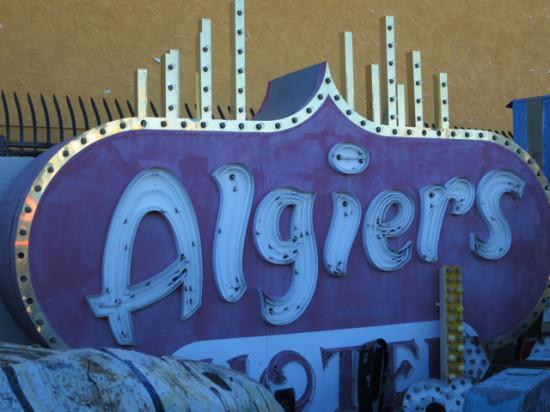 Algiers Hotel - Look familiar? - Neon Museum