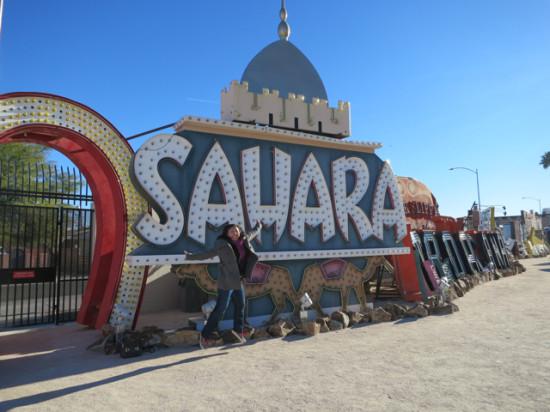 Me and the Sahara - Neon Museum