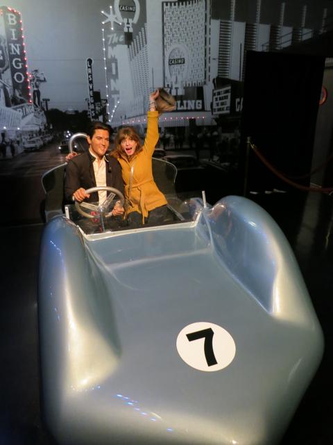 Elvis and Julie - Madame Tussauds LV