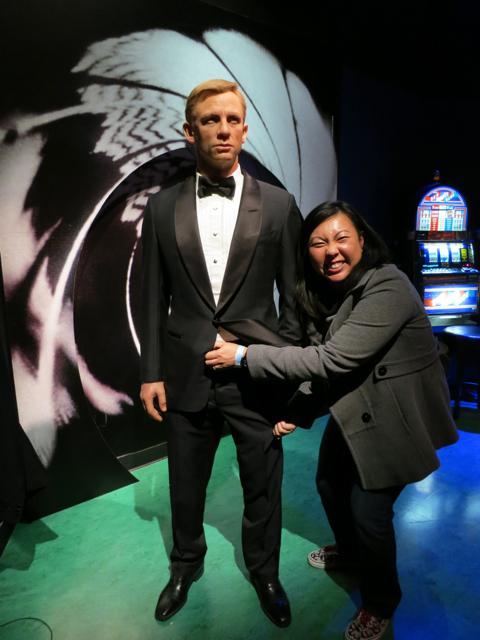 Daniel Craig - future #MENday post - Madame Tussauds LV