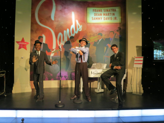 The Rat Pack - Madame Tussauds LV