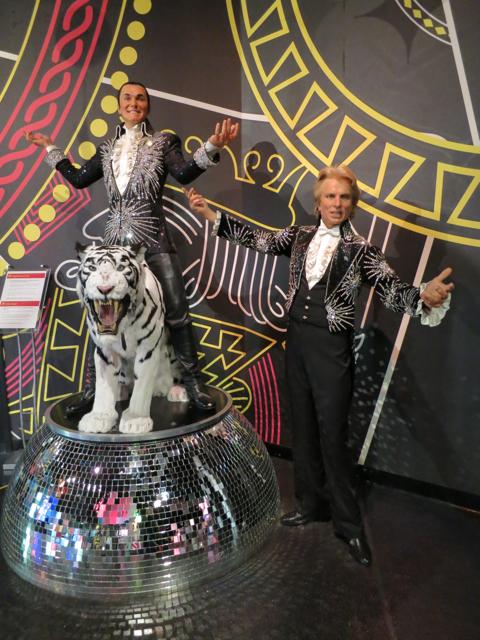 Siegfried and Roy - Madame Tussauds Las Vegas