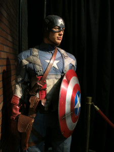 Captain America - Madame Tussauds LV