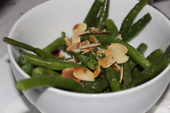 My  Haricot Verts (aka french green beans) - Sugar Factory. PHoto by Xenia