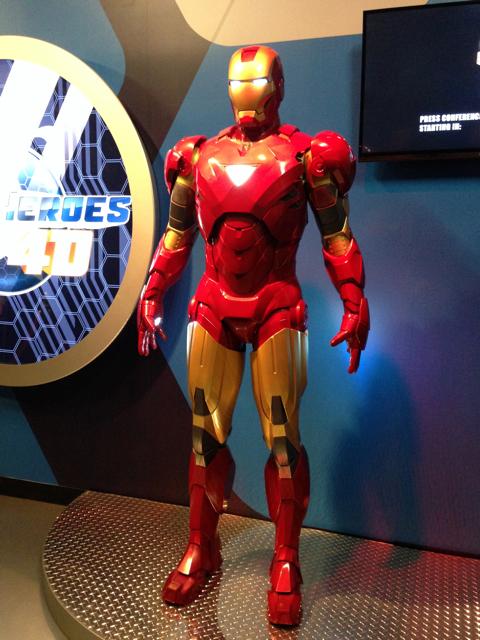 Iron Man - Madame Tussauds LV