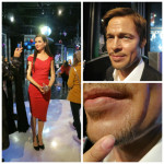 Sandra Bullock, Brad Pitt up close - Madame Tussauds Las Vegas