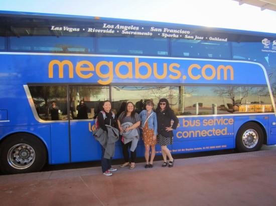 Bloggers gone bussin'! - Megabus