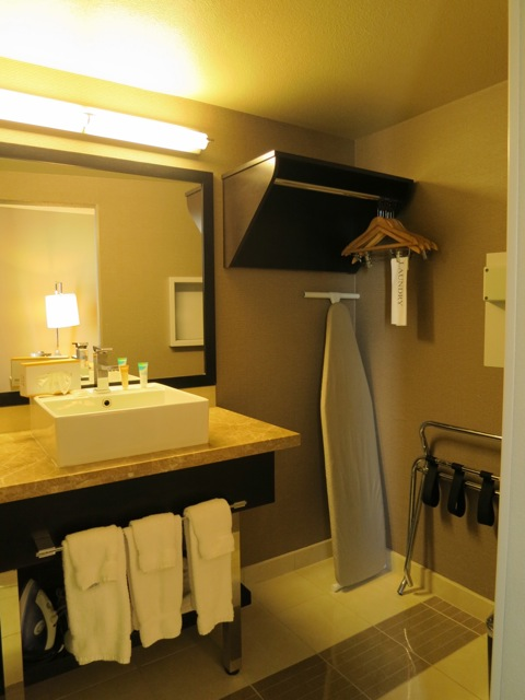 """The sink & """"closet"""" - The Plaza LV"""