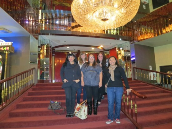 In front of Louie Anderson's theater - The Plaza Las Vegas